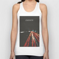 infinite Tank Tops featuring infinite by MrPJ6