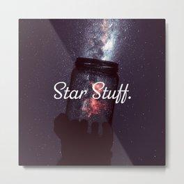 Star Stuff. (Purple) Metal Print