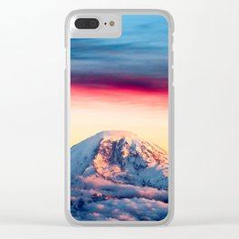 High on a Mountaintop Clear iPhone Case