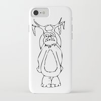 lil bub iPhone & iPod Cases featuring Frozen Bub by GoAti