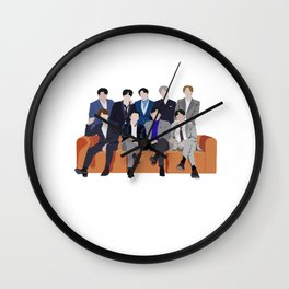 Super Junior 15 walk together Wall Clock