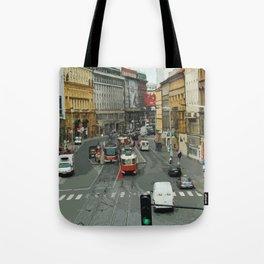 Retro PRAHA Tote Bag