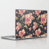 hibiscus Laptop & iPad Skins featuring Hibiscus by 83 Oranges™
