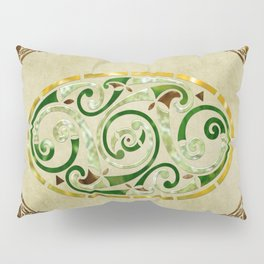 Celtic Old Traditional Tapestry Pillow Sham
