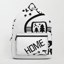 Home Is Where We Roam Rv Camper Road Trip Backpack