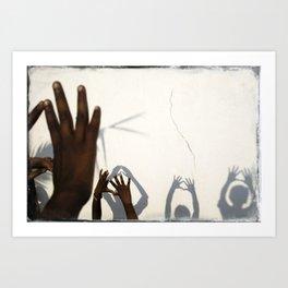 Hands of India Art Print