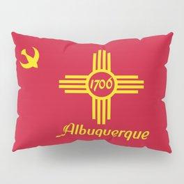 Flag of Albuquerque Pillow Sham