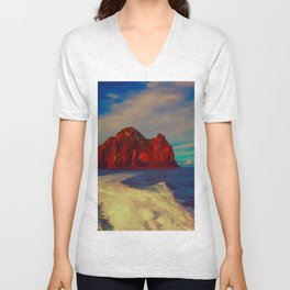 New Zealand, Bay of Islands - Hole in the Rock Unisex V-Neck