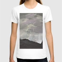 Trouble over the prairies T-shirt