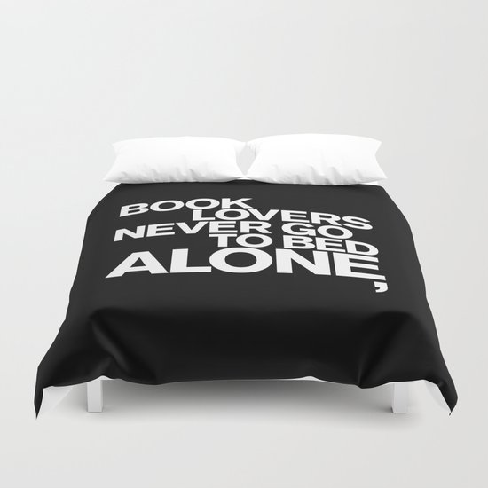 ALONE: NEVER Duvet Cover