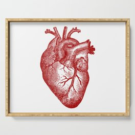 Vintage Heart Anatomy Serving Tray