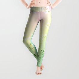 Van Gogh Almond Blossoms : Pastel Rainbows Leggings