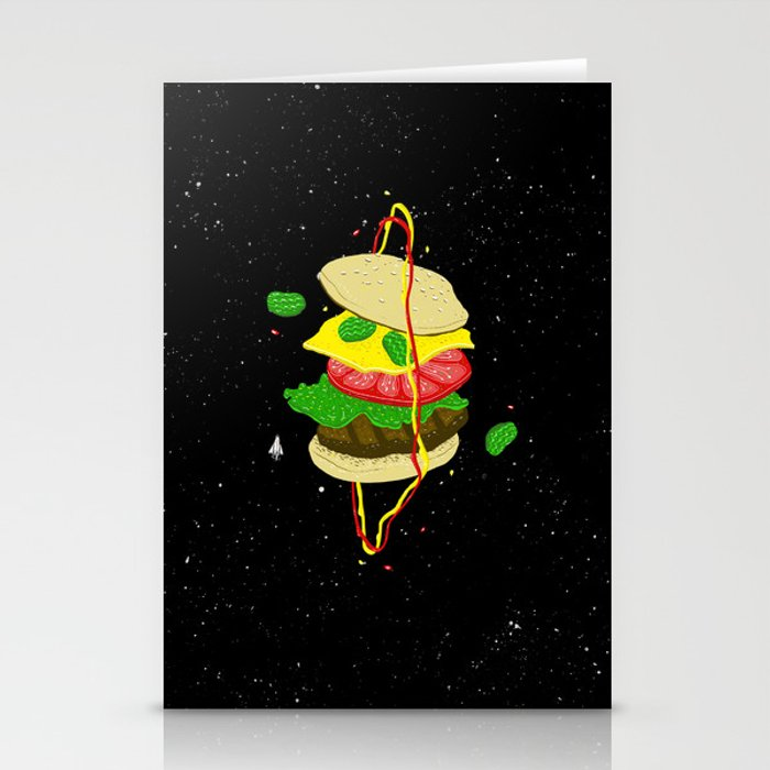 Planetary Discovery 8932: Cheeseburger Stationery Cards