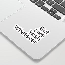 That Vocabulary Sticker