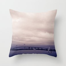 From Goat Island, RI Throw Pillow