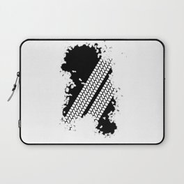 Tyre Tread Grunge Laptop Sleeve