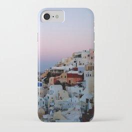 Dawn of Santorini Greece iPhone Case