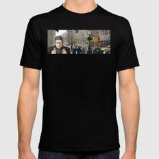 Pursuit Mens Fitted Tee Black SMALL