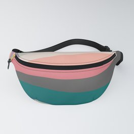VHS Retro Gradient 2 Fanny Pack