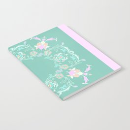 pink and pastel medalion Notebook