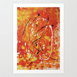 Penne at the Ballet Art Print