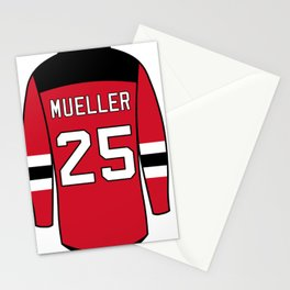 Mirco Mueller Jersey Stationery Cards