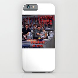 Seinfeld- Death Metal iPhone Case