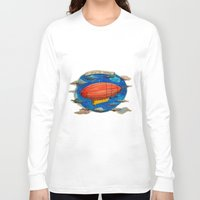 led zeppelin Long Sleeve T-shirts featuring Zeppelin by sugu