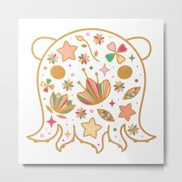 Octocutie Metal Print