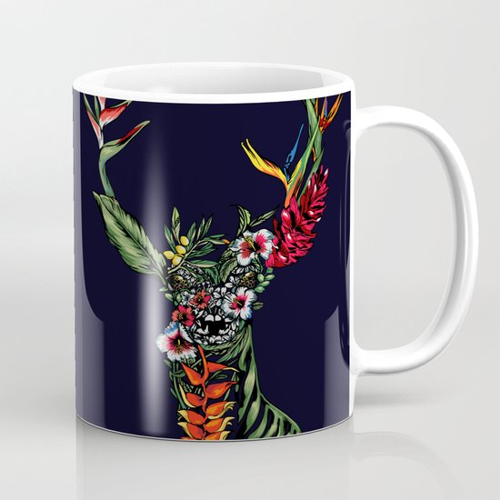Tropical Deer Mug