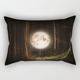 Visiting The Forest Rectangular Pillow