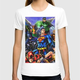 heroes all T-shirt