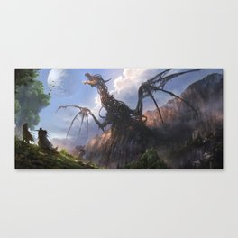 Entombed Canvas Print