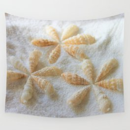 Seashells 4 Wall Tapestry