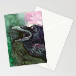 Complementary Raven 3 Stationery Cards