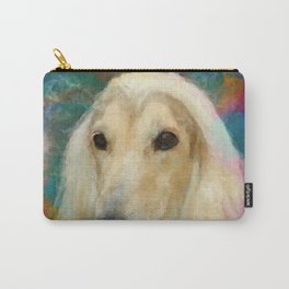 Afghan Hound Portrait Carry-All Pouch