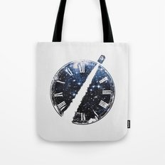 Journey through space and time Tote Bag
