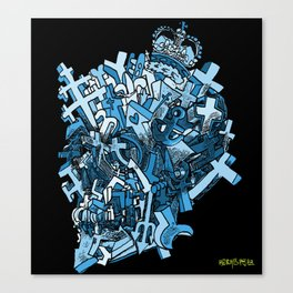 Rich Uncle Skullerting Canvas Print