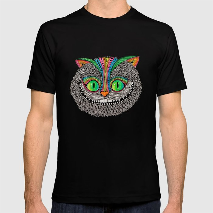 Alice´s cheshire cat by Luna Portnoi T-shirt