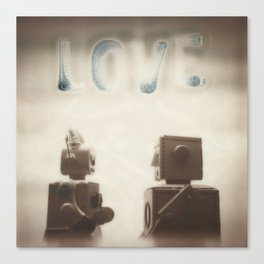 Love is Best When It Isn't Perfect Canvas Print