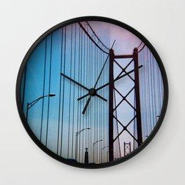 Lisboa #1 Wall Clock