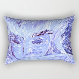 Frozen Man Rectangular Pillow