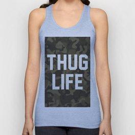 Thug Life - camouflage version Unisex Tank Top