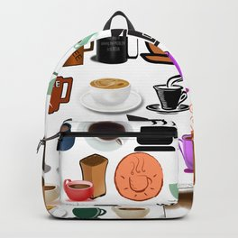 Coffee Mugs, Cups and Makers Backpack
