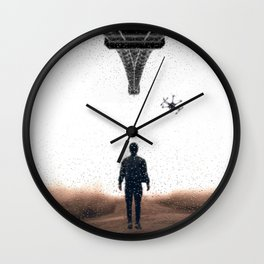 Bringing my drone to Paris by GEN Z Wall Clock