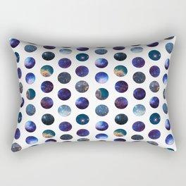 Galactic Dots Rectangular Pillow