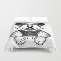mickey Duvet Covers featuring Hey Mickey by terezamc.