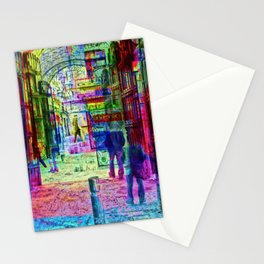 foreseeable if recollections can loop back aground Stationery Cards