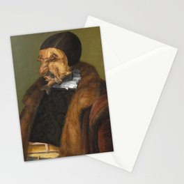 The Lawyer - Giuseppe Arcimboldo Stationery Cards