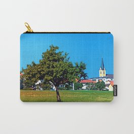 Lonesome tree in front of the village Carry-All Pouch